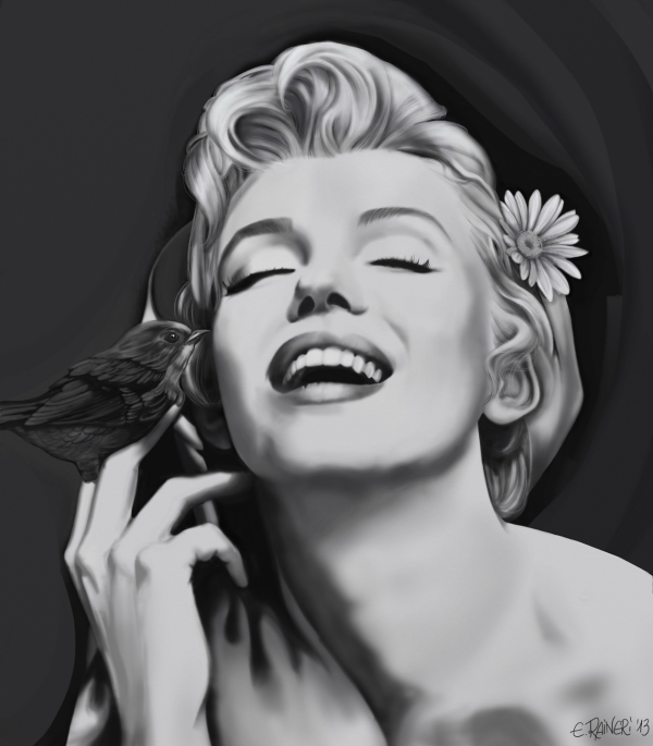 Marilyn Monroe por rainer